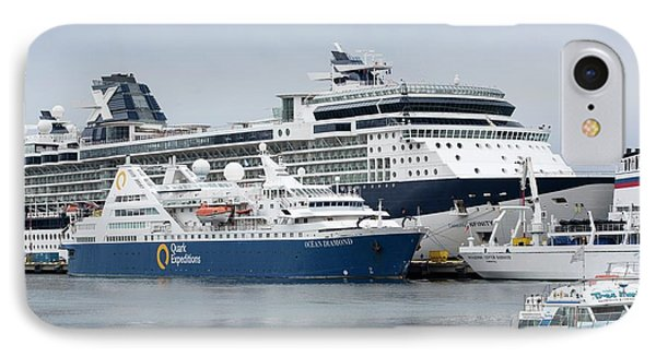 Antarctic Cruise Boats IPhone Case