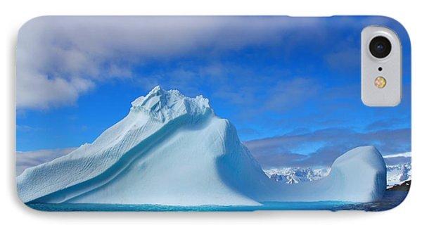 Antarctic Iceberg IPhone Case by FireFlux Studios