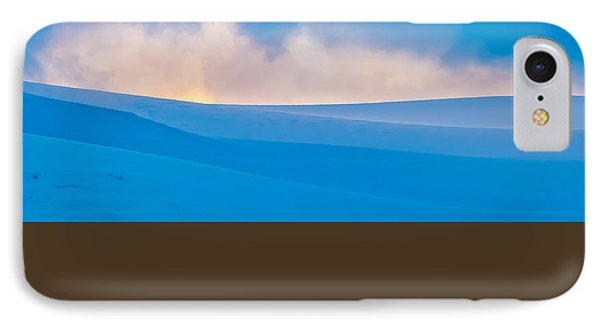 Antarctic Mist - Antarctica Sunset Photograph IPhone Case by Duane Miller