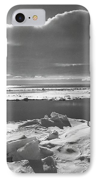 Antarctic Pack Ice At Christmas IPhone Case by Scott Polar Research Institute