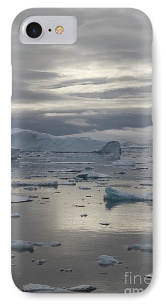 Antarctica Reflections All Profit Go To Hospice Of The Calumet Area IPhone Case