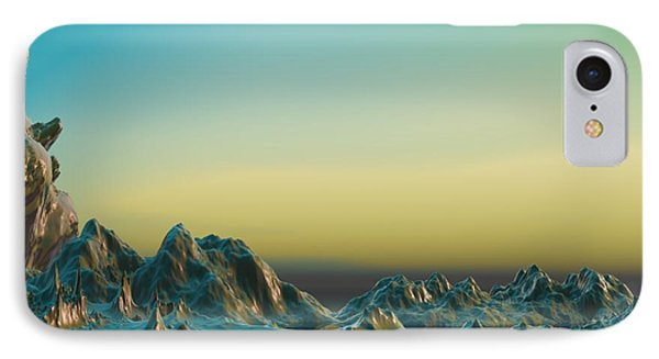 Ante Somnum - Surrealism IPhone Case by Sipo Liimatainen