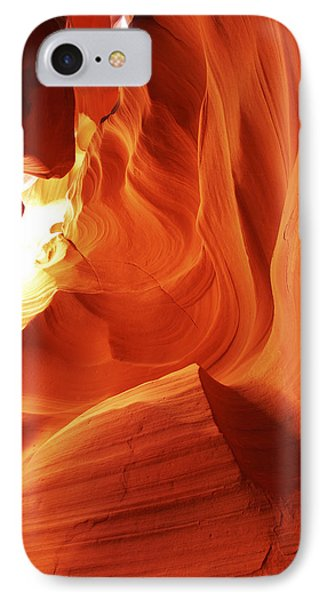 IPhone Case featuring the photograph Antelope Canyon In Winter Light 1 by Alan Vance Ley