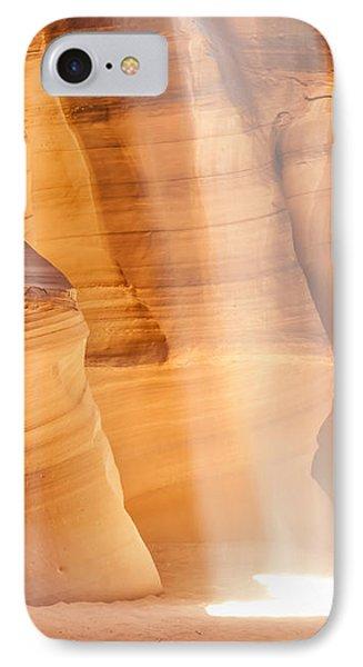 Antelope Canyon Light Beam IPhone Case by Melanie Viola