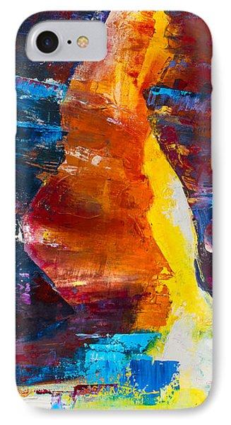 Antelope Canyon Light Phone Case by Elise Palmigiani