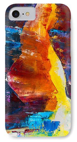 Antelope Canyon Light IPhone Case by Elise Palmigiani