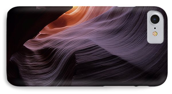 Antelope Canyon Movement In Stone Phone Case by Bob Christopher