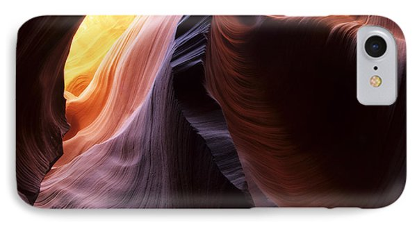 Antelope Canyon Pages Of Time Phone Case by Bob Christopher