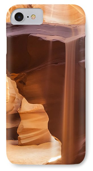 Antelope Canyon Pouring Sand IPhone Case by Melanie Viola