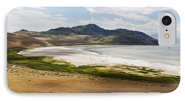 IPhone Case featuring the photograph Antelope Island by Belinda Greb