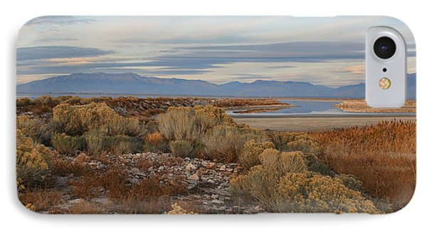 IPhone Case featuring the photograph Antelope Island - Scenic View by Ely Arsha