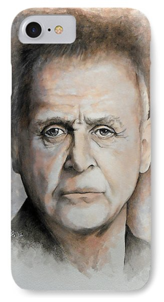 Anthony Hopkins Phone Case by William Walts