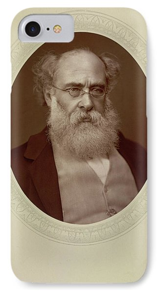 Anthony Trollope IPhone Case by British Library