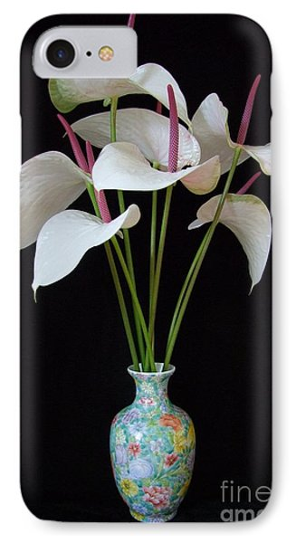 Anthurium Bouquet Phone Case by Mary Deal