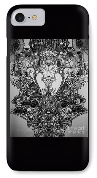Antichrist Phone Case by Michael Kulick