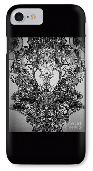 Antichrist IPhone Case by Michael Kulick