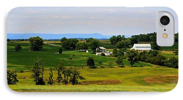 Antietam Battlefield And Mumma Farm IPhone Case by Patti Whitten