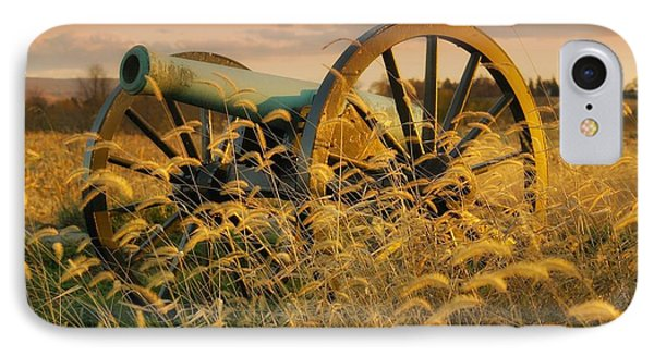 IPhone Case featuring the photograph Antietam Maryland Cannon Battlefield Landscape by Paul Fearn