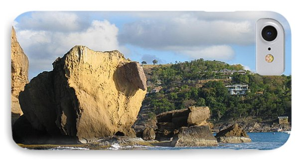 IPhone Case featuring the photograph Antigua - Aliens by HEVi FineArt