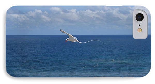 IPhone Case featuring the photograph Antigua - In Flight by HEVi FineArt