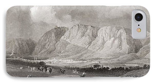 Antioch In Syria, From The South West, From A 19th Century Engraving.  From The Imperial Bible IPhone Case by Bridgeman Images