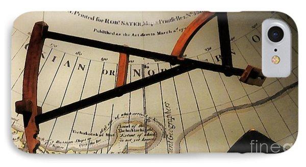 Antiquaria Nautica Phone Case by RC deWinter