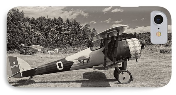 Antique 1917 Nieuport 28c.1  Biplane IPhone Case by Keith Webber Jr