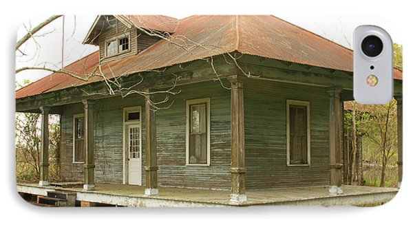 Antique And Abandoned House IPhone Case