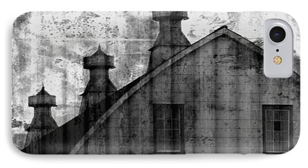Antique Barn - Black And White IPhone Case by Joseph Skompski