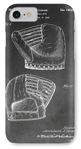 Antique Baseball Mitt IPhone Case by Dan Sproul