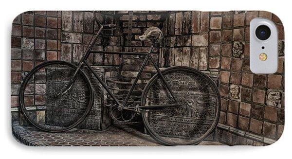 Antique Bicycle Phone Case by Susan Candelario