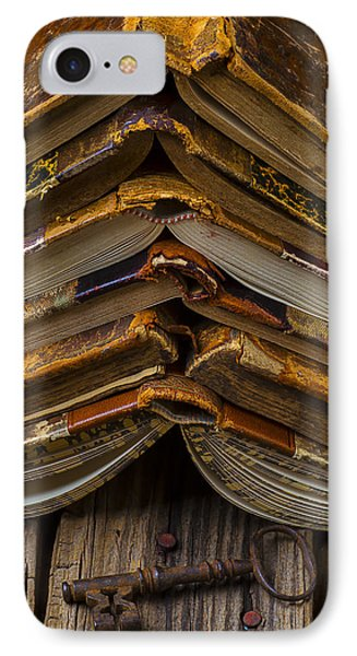 Antique Books Phone Case by Garry Gay