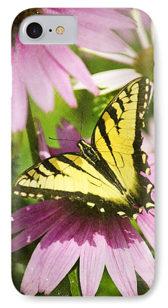 Antique Butterfly Postcard No. 3022 IPhone Case by Christina Rollo