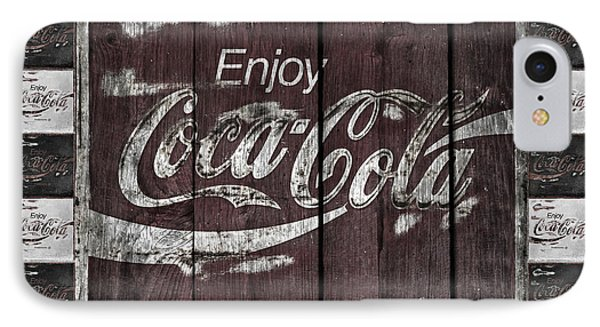 Antique Coca Cola Signs Phone Case by John Stephens