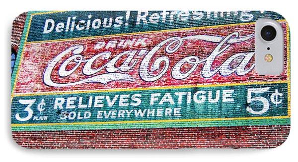 Antique Coke Sign IPhone Case