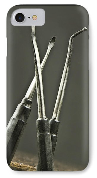 Antique Dental Equipment IPhone Case by Garry McMichael