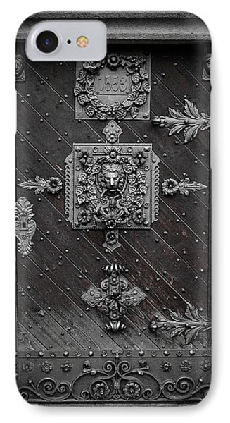 Antique Doors In Budweis IPhone Case