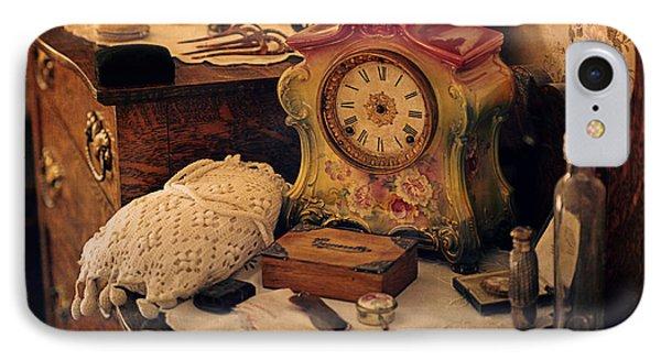 Antique Dresser  IPhone Case by Maria Angelica Maira