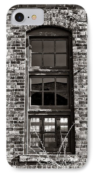 Antique Factory Window IPhone Case by Olivier Le Queinec
