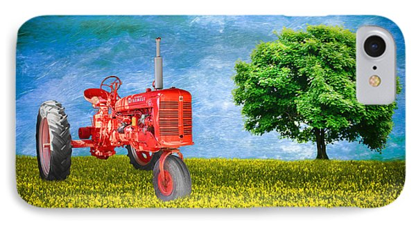 Antique Farmall Tractor IPhone Case