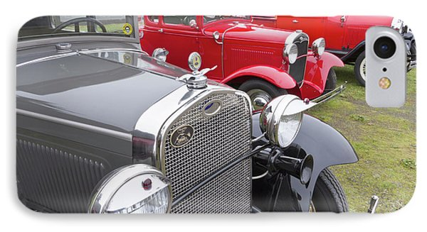 Antique Ford Automobiles At Ft IPhone Case by William Sutton