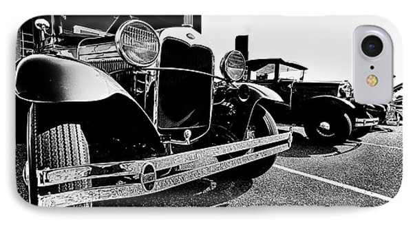 Antique Ford Car At Car Show IPhone Case