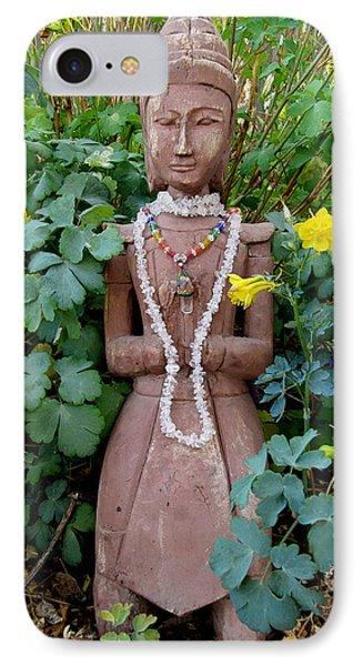 Antique Garden Goddess Phone Case by Eileen Lighthawk