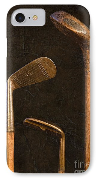Antique Golf Clubs IPhone Case