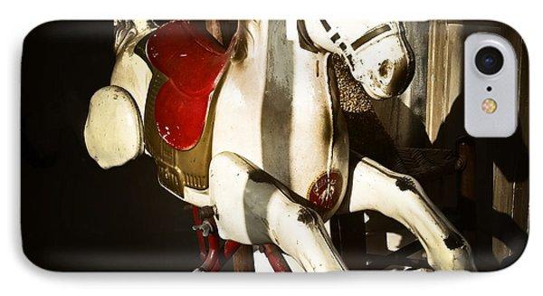 Antique Horse C IPhone Case by Patrick M Lynch