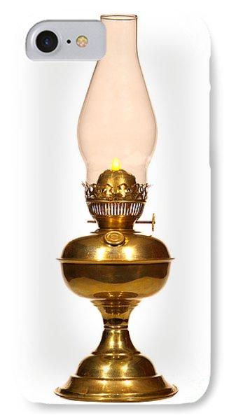 Antique Hurricane Lamp IPhone Case
