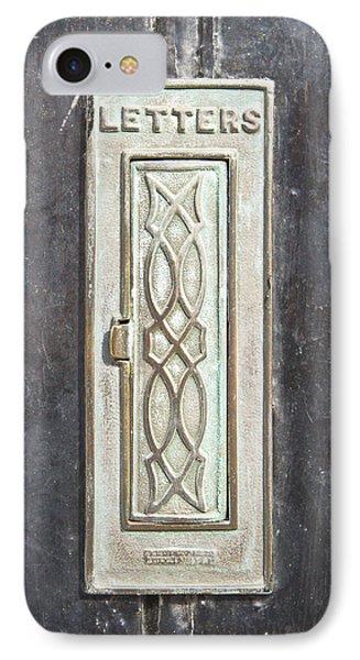 Antique Letter Pox IPhone Case by Tom Gowanlock