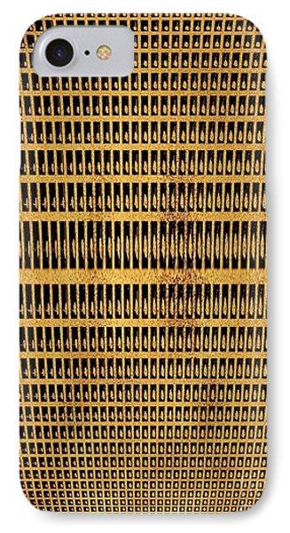 Antique Microphone Phone Case by Marsha Heiken
