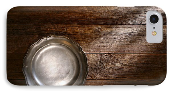 Antique Pewter Plate Phone Case by Olivier Le Queinec