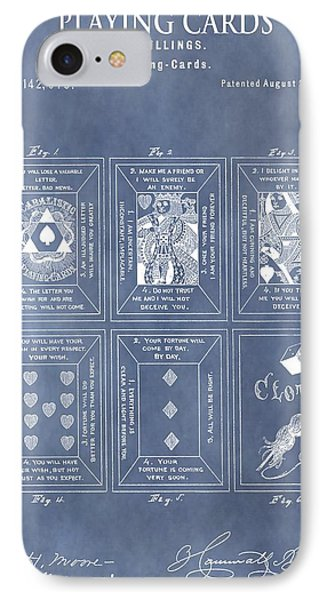 Antique Playing Cards IPhone Case by Dan Sproul